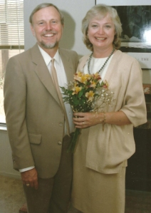 Wedding Picture of Loretta and Bill, 1985