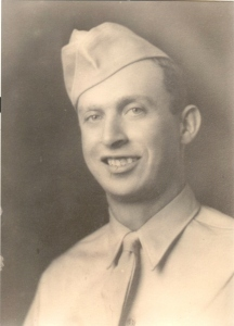 Uncle Frank, Army photo  WWII
