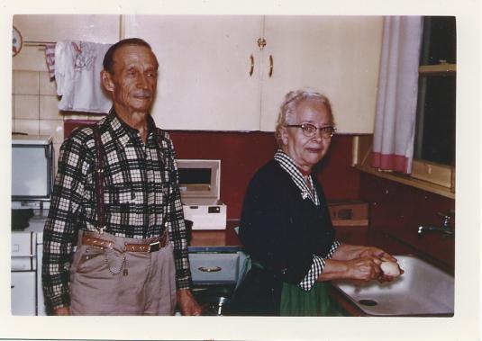 Jacob & Lena Willems, 1957