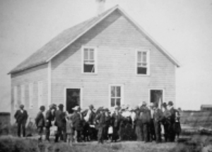 Brotherfield Mennonite Brethren Church, Cornelius Willems Funeral 1902