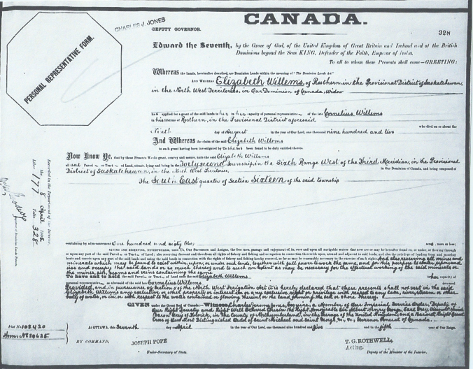 Dated 8 April 1905