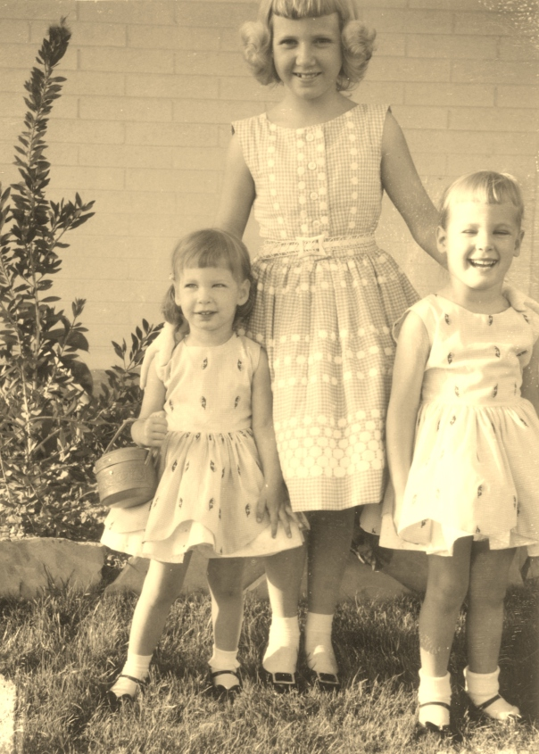 Benith, Jacque, Nina Renee Easter 1960